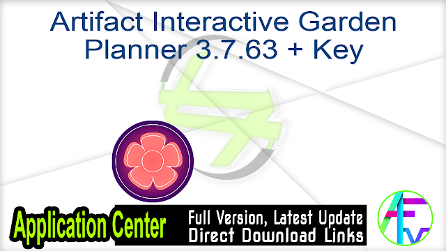Artifact Interactive Garden Planner 3.7.63 + Key