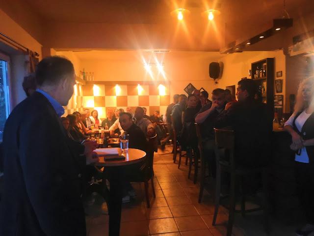 Επίσκεψη του υποψηφίου Δημάρχου Κώστα Παλάσκα και αντιπροσωπείας υποψηφίων δημοτικών συμβούλων στις Κοινότητες Αγ. Γεωργίου, Κιβωτού, Κληματακίου, Κοκκινιάς και Πολύδενδρου