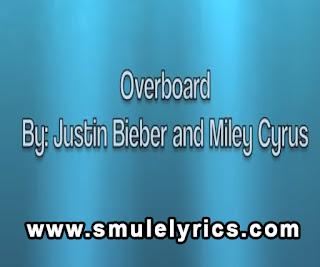 Overboard (Live) Lyrics