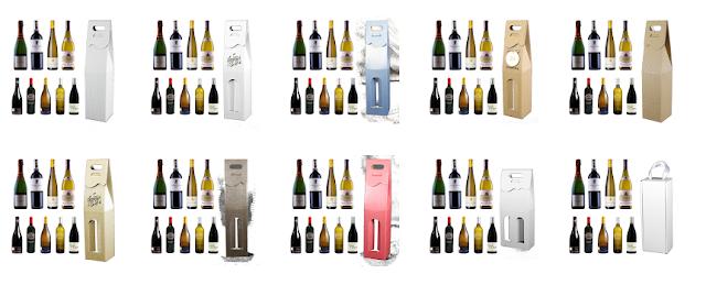 Opakowanie ozdobne na alkohole