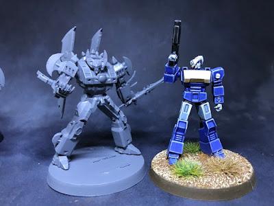 Size comparison of Narcitron vs General Duke