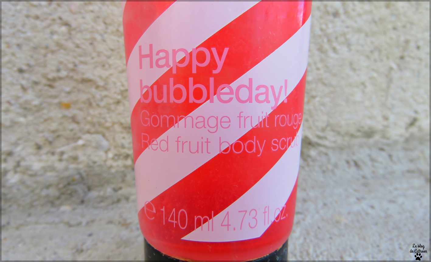 Happy Bubbleday! - Gommage Fruit Rouge - Sephora