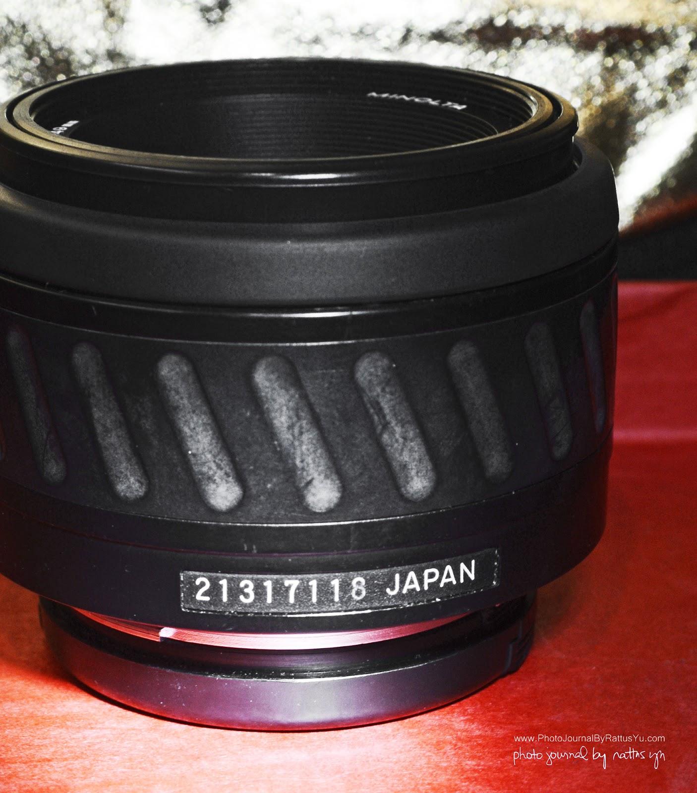 Minolta AF 50mm f/1.7 (Minolta/Sony A Mount)