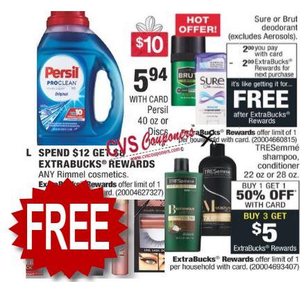FREE Persil CVS Coupon Deal 11-10-11-16