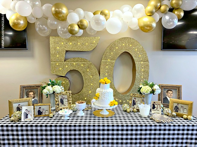 Decorations For 50th Wedding Anniversary Off 76 Buy