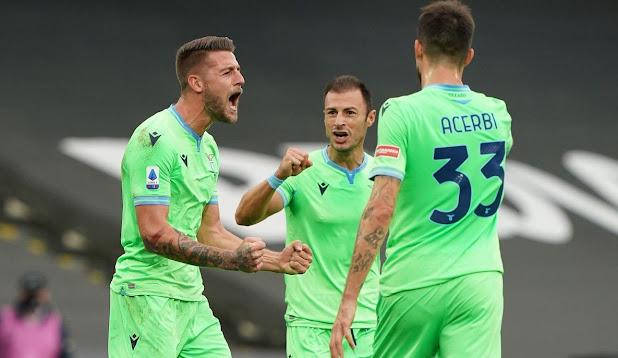 مشاهدة اهداف وملخص مباراة لاتسيو وسبيزيا 2-1 في الدوري الايطالي