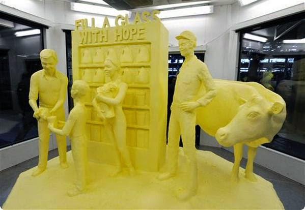 The 2015 Pennsylvania Farm Show - Butter Sculpture