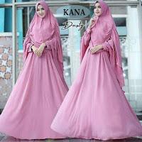 Baju Busana Muslim Gamis Kana Syari