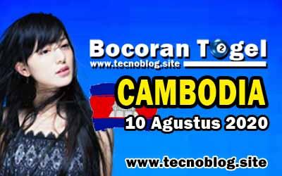 Bocoran Togel Cambodia 10 Agustus 2020