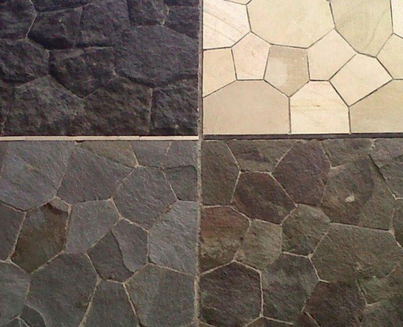 keramik motif batu alam kreatif