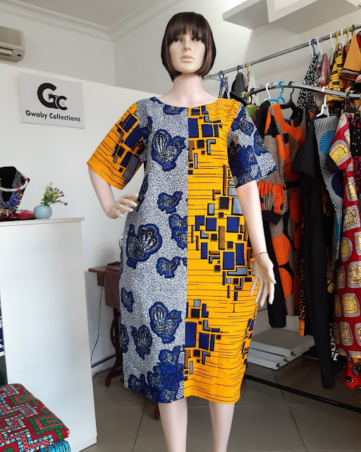 2019 Lovely Ankara Short Gown Styles for African Ladies