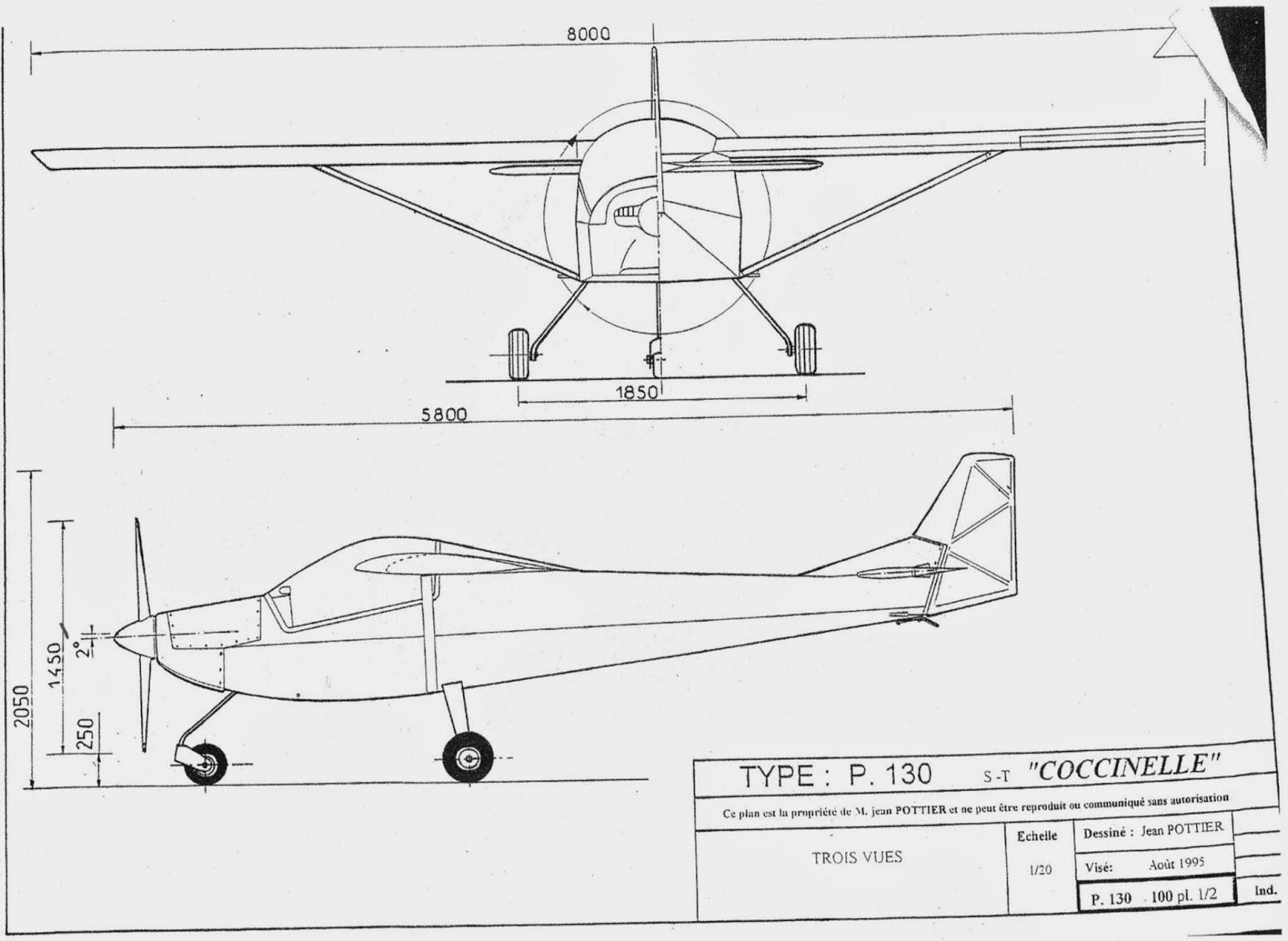 ultraleichtflugzeug bauplan