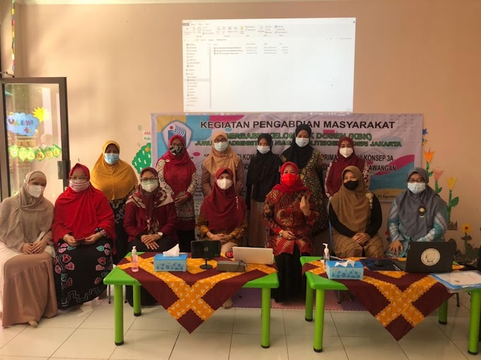 Pengabdian Kepada Masyarakat. Dosen PNJ Berikan Pelatihan Puluhan Guru TK di Depok
