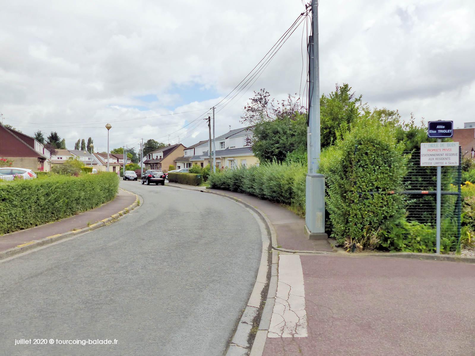 Rue de l'Adjudant Chef Leroy, Tourcoing 2020