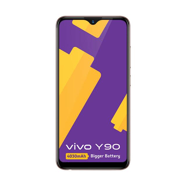 Vivo Y90 Gold