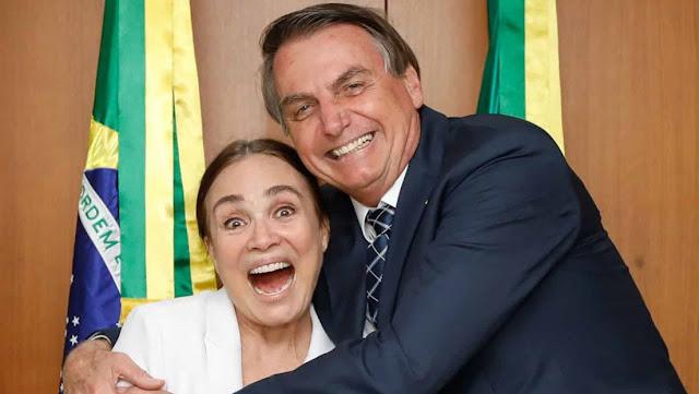 """La actriz y candidata de Bolsonaro a la secretaría de Cultura publica un video contra el """"marxismo cultural"""""""