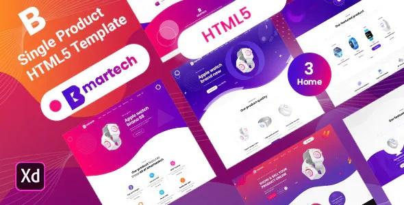 Best Single Product landing HTML5 Template