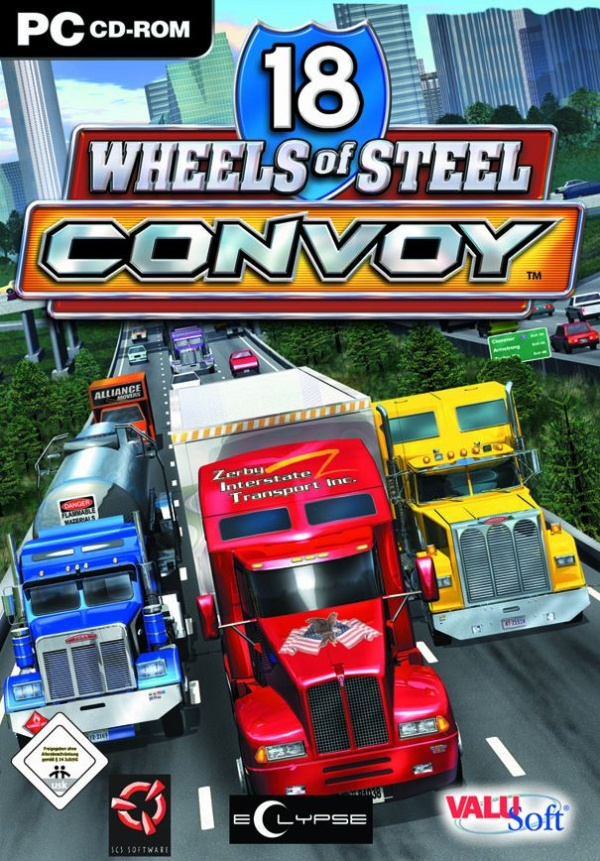 bajar 18 Wheels of Steel Convoy pc full español setup