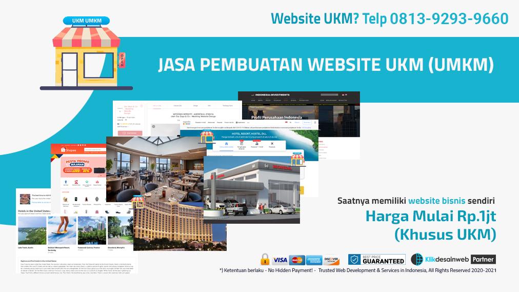 website ukm,website umkm,jasa pembuatan web ukm