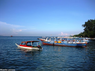 Gili Air, Indonesia, harbor