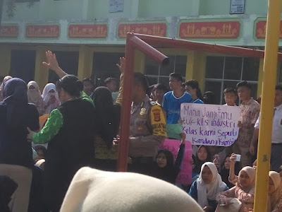 Siswa SMKN 3 Bandarlampung Demo, Ini Kata Kadis Pendidikan