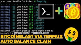 Script Auto Balance Claim BitcoinBlash