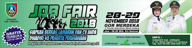 Job Fair Kabupaten Jombang (GRATIS)