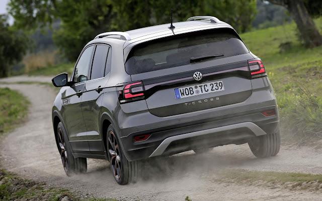 VW T-Cross 1.5 TSI DSG-7 chega à Alemanha  € 25.690