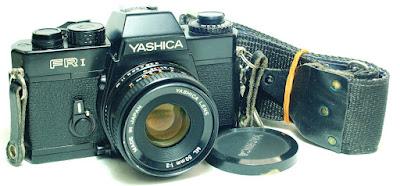 Yashica FR1 Body #091, Yashica ML 50mm 1:2 #204