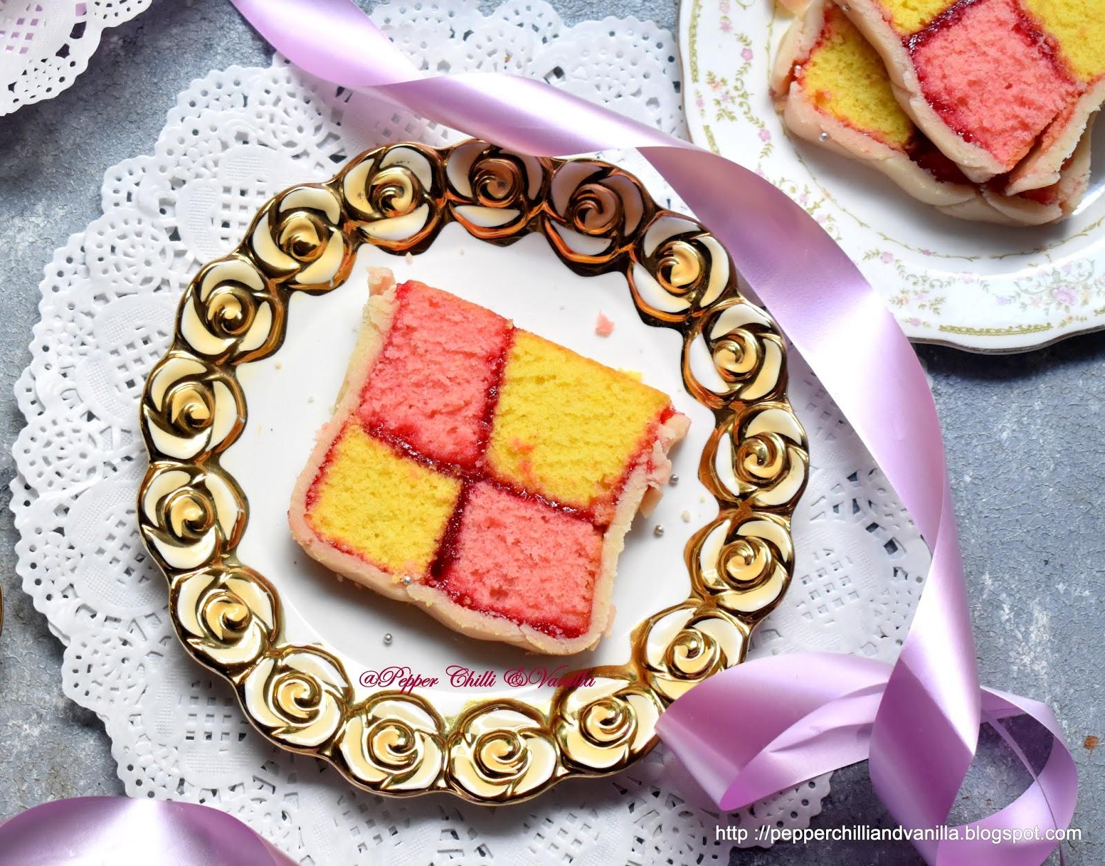 battenburg cake,battenberg cake