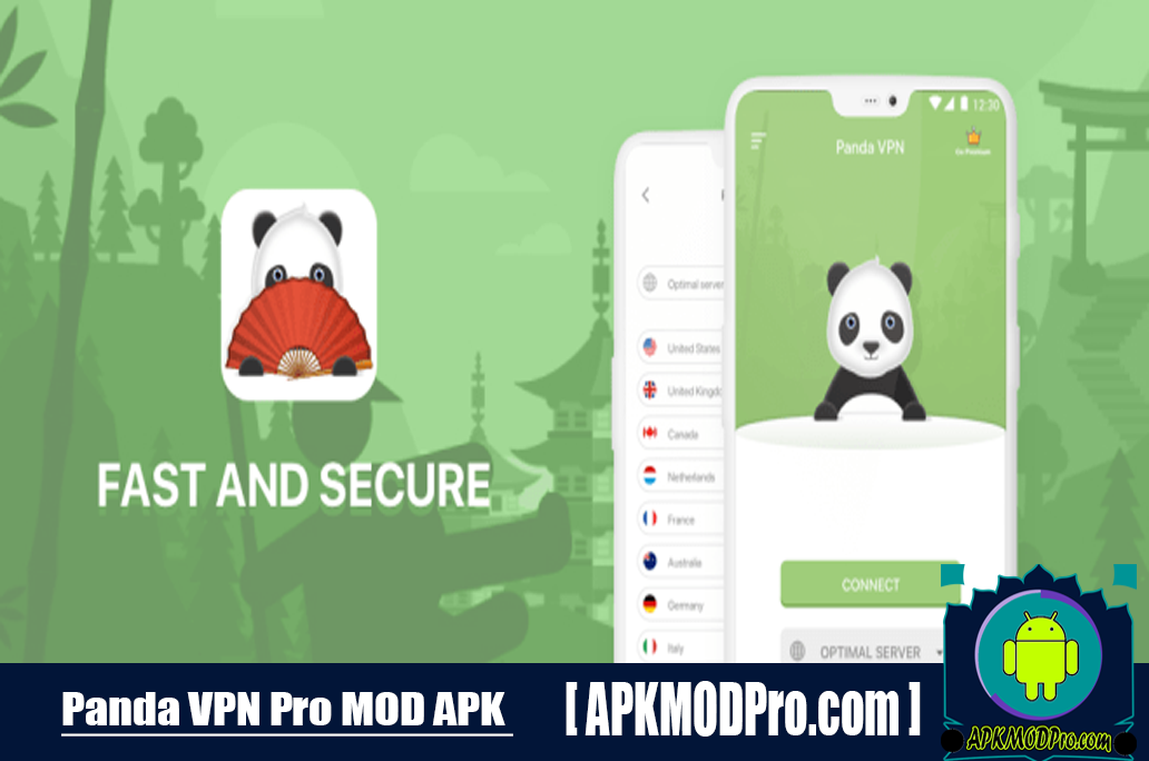 Panda VPN Pro APK 4.4.1 – The Fastest, Private VPN For Android