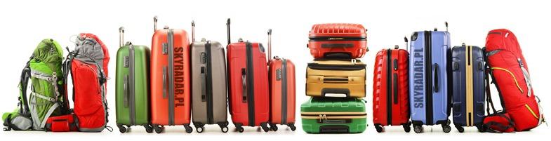 Walizki podróżne. Bagaż podręczny i walizki kabinowe. Plecaki i torby sportowe w podróży.