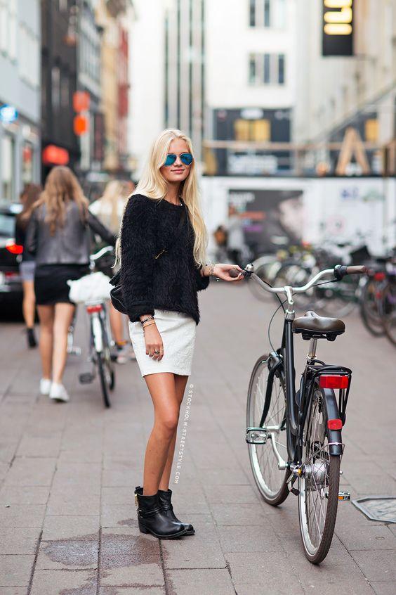 Saia e Bicicleta - Blog Cris Felix
