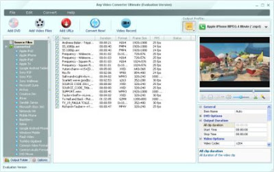 Any Video Converter Ultimate 4.4.0 Full Crack