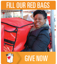 Fill Our Red Bags - Give Now