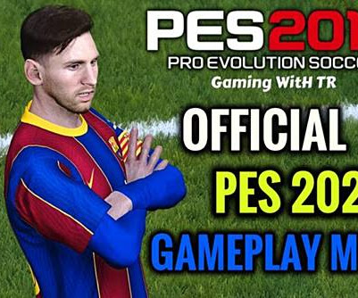 PES 2017 Official PES 2021 Gameplay Mod V2