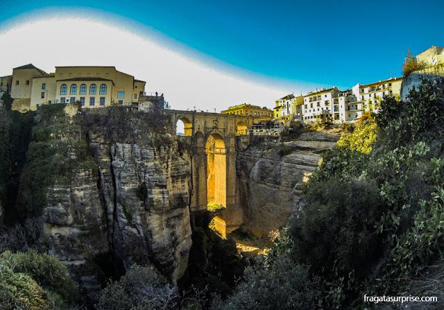 Desfiladeiro do Tajo, Ronda, Andaluzia, Espanha