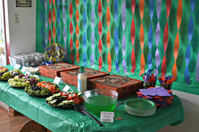 Teenage Mutant Ninja Turtle Birthday Party |Building Our Story - photo#35