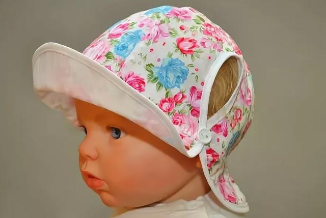 выкройка шапочки-панамки