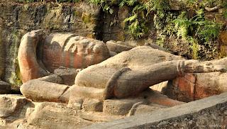 Vishnu Idol Bandhavgarh