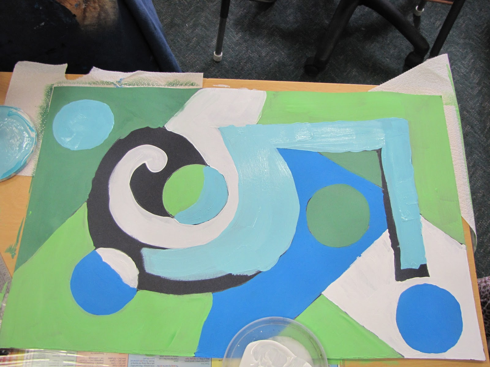 Do Art Charles Demuth Cool Colors Number Five Project