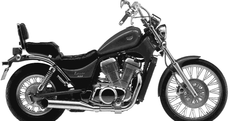 Suzuki VS800 Intruder motorcycle 1992 Complete Electrical Wiring Diagram (US and Canada)   All