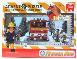 Fireman Sam Advent Puzzle Box