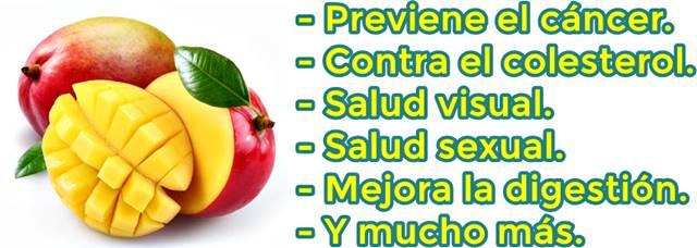 ¿Para qué sirve comer mango a diario?