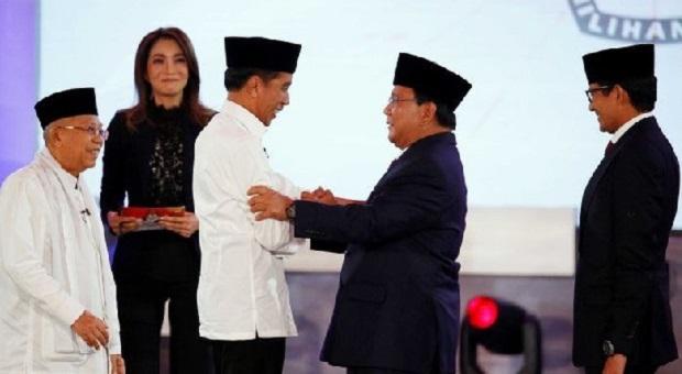 4 'Serangan' Prabowo ke Jokowi di Debat Pilpres Perdana