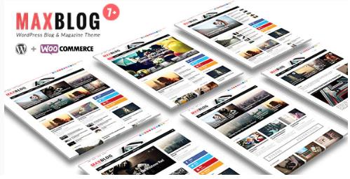 MaxBlog Theme Wordpress