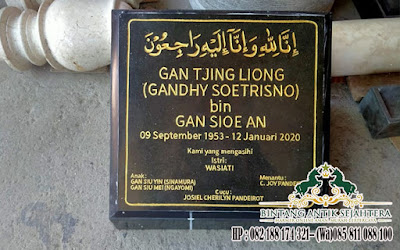 Harga Nisan Kotak Granit, Nisan Batu Alam Tulungagung