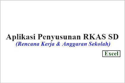 Aplikasi Penyusunan Rencana Kerja & Anggaran Sekolah Dasar (RKAS)