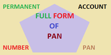 full form of pan
