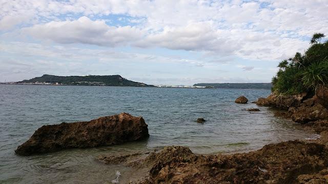 平安座島と宮城島の写真